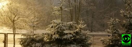 """Sypnęło śniegiem. """"Nareszcie zima"""""""