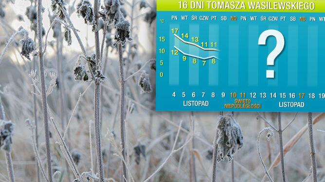 Prognoza pogody na 16 dni: ocieplenie nie potrwa długo