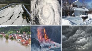 Huragany, powodzie i arktyczne mrozy. Zobacz najważniejsze wydarzenia pogodowe tego roku