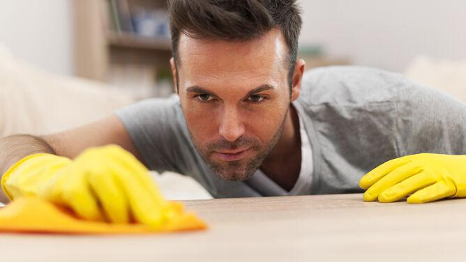 Sprzątanie - domowa siłownia