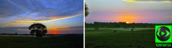 """""""Wschody słońca nigdy nie są takie same"""". Powalające zdjęcia z Suwalszczyzny"""