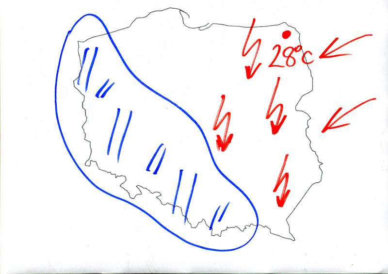 Wasilewski o temperaturze w Polsce