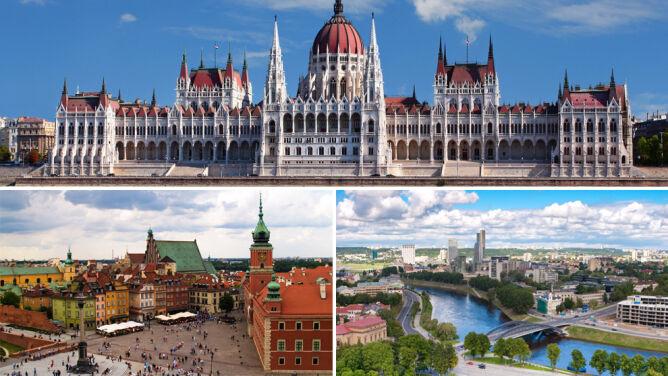 Na wakacje do Budapesztu, Wilna lub Warszawy. Bo tam najkorzystniej