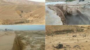 Powódź na pustyni w Izraelu. Nie żyje dwóch nastolatków