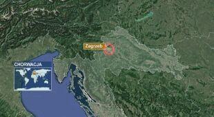 Ziemia zatrzęsła się na północ od Zagrzebia