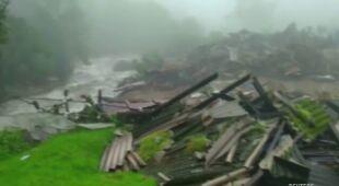Co najmniej 18 osób zginęło w lawinach błotnych